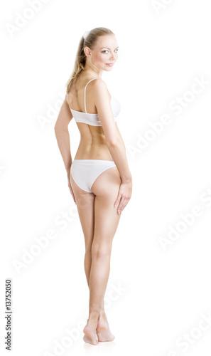 Fototapeta Female Perfect Body Back obraz na płótnie
