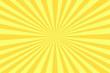 canvas print picture - Strahlen gelb