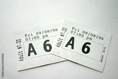 Valokuvatapetti Theater Tickets