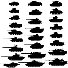 Evolution Of The Tank.Detailed...