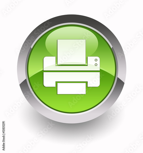 Fotografía  Printer glossy icon