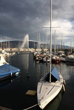 Geneva Lake In A Cloudy Day, B...