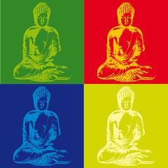Fototapeta Popart Popart Buddha