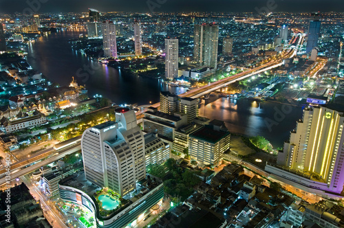 Photo  Bangkok at night