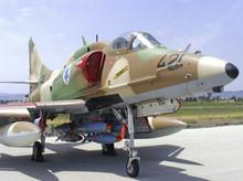 Israeli Skyhawk Fighter Aircraft