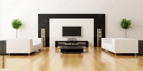 Fotografie, Tablou  Modern interior of a room