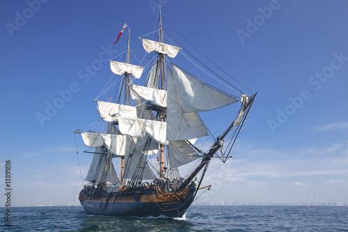 Fotografie, Obraz  Sailing Ship