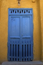Door In The Egyptian City Of A...