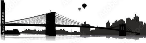 Brooklin Bridge - Vektor