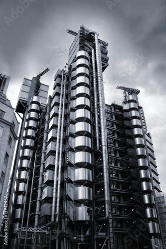 London skyscraper Canvas Print