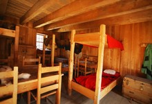 Bunk Beds In A Rustic Interior