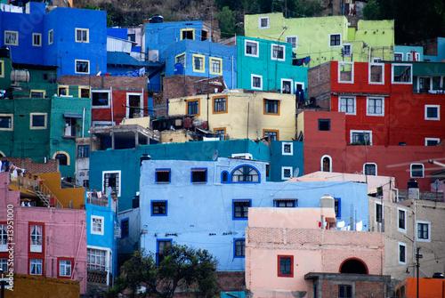 Fotobehang Mexico View of Guanajuato, Mexico