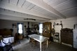 Interior of old fashioned cabin, Fort Edmonton, Alberta, Canada