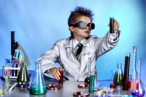 Fotografía  little scientist
