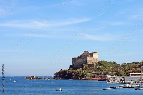 Mediterraneo- Baia il Castello Canvas Print