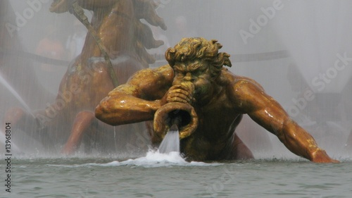 Foto op Canvas Fontaine Char d'Apollon Versailles