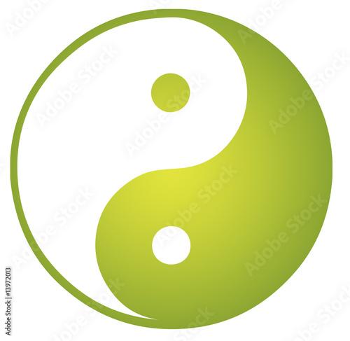 Valokuva  Yin Yang symbol