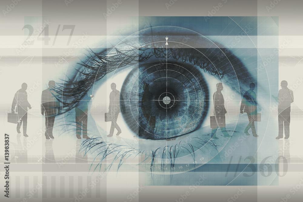 Fototapeta eye