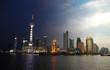 Le Bund à Shanghaï, Chine, de jour et de nuit