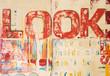 canvas print picture - Malerei modern