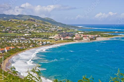 Foto op Plexiglas Caraïben Blue Crescent Bay
