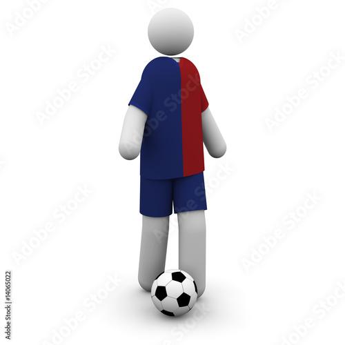 Photo  Barcelona Soccer Player