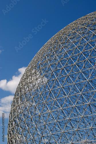 Fotografía Geodesic dome aspect