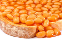 Beans On Toast Close Up
