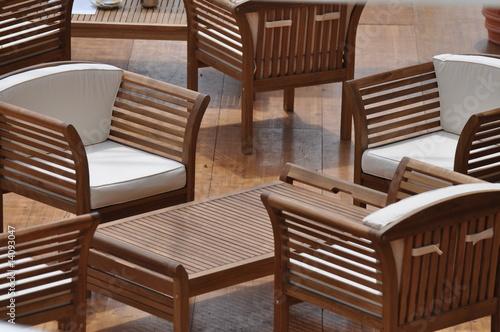 salon de jardin extérieur en teck - détente et relaxation - Buy this ...