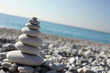 Piedras Zen en la Playa