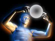 Strange Magic Man With Colorfu...