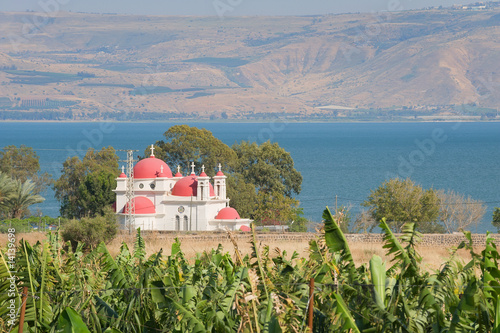 Canvas-taulu Capernaum - greek orthodox church The twelve apostles