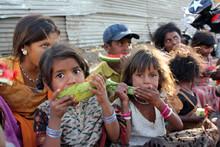 Poor Hungry Children