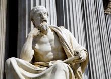 Vienna - Philosopher Statue Fo...