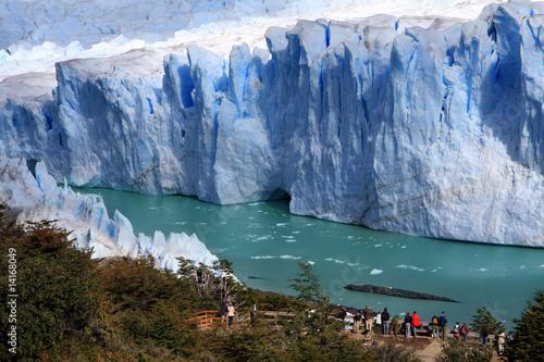 Poster Glaciers Perito Moreno glacier