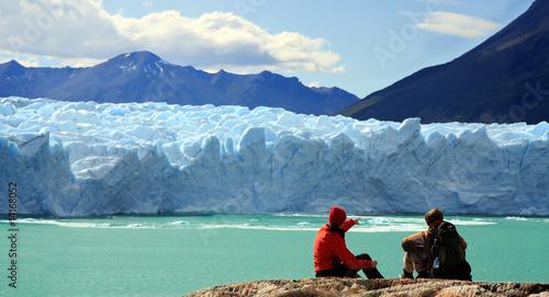 Poster Glaciers Perito Moreno Glacier, Argentina