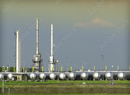 Keuken foto achterwand Nasa petrochemical industry