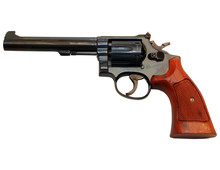 Handgun Isolated On White