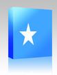 Flag of Somalia box package