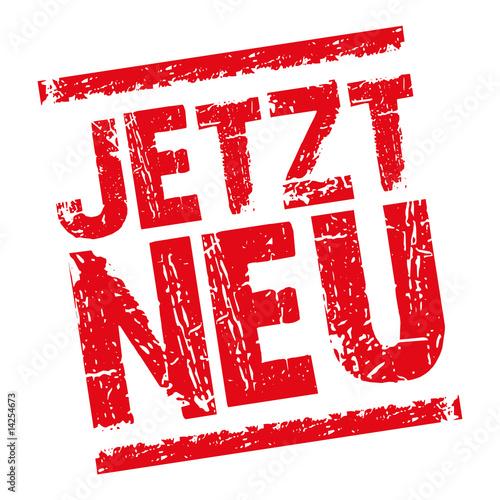 Carta da parati Jetzt_Neu-Stempel