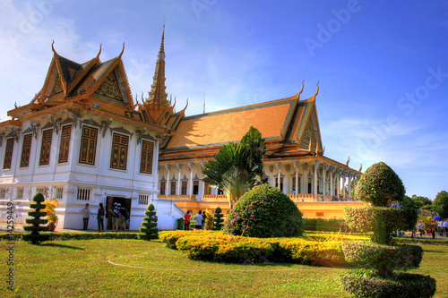 Pinturas sobre lienzo  Silver Pagoda - Phnom Penh - Cambodia