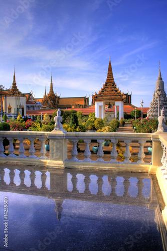 Cuadros en Lienzo Silver Pagoda - Phnom Penh - Cambodia
