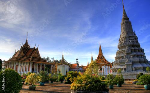 Fotomural  Silver Pagoda - Phnom Penh - Cambodia