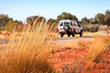 canvas print picture - Jeep im Outback
