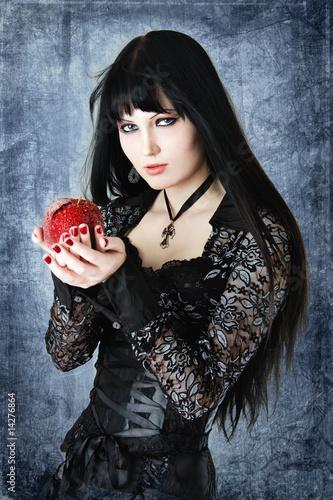 Fotografie, Obraz  Gothic girl