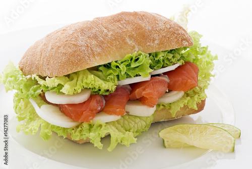 Lachs Sandwich