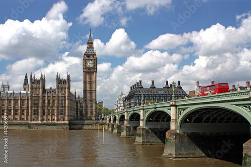 Foto op Plexiglas Londen rode bus LONDON