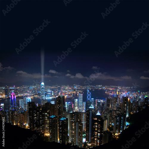 Photo  Hong Kong Night View