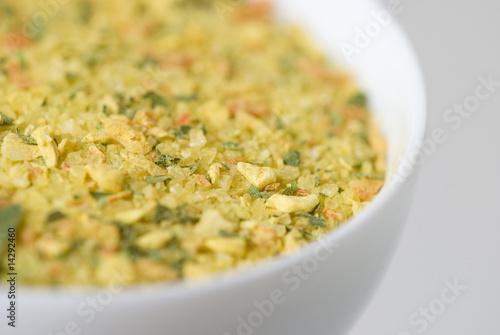 Láminas  Condimento verduras y especias seca