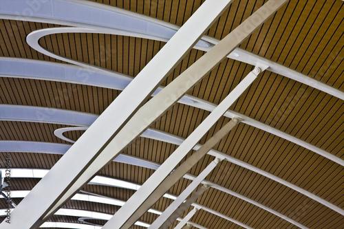 Spoed Foto op Canvas Trappen ceiling pattern